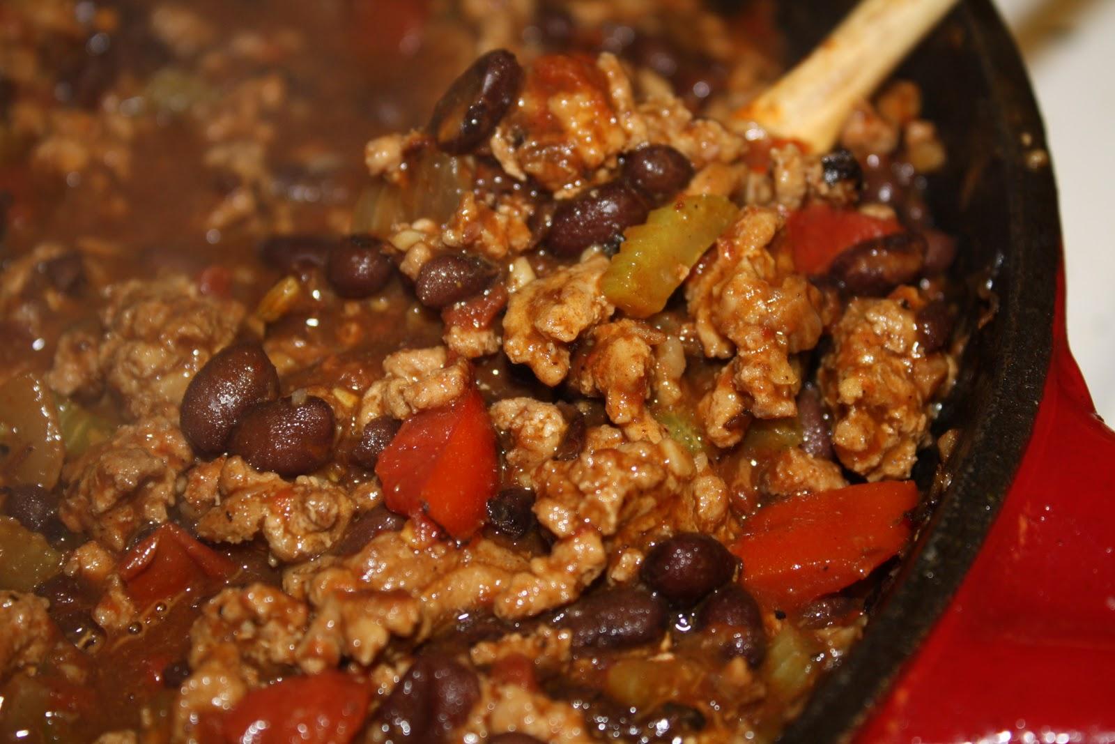 bean three bean turkey chili quick turkey black bean chili recipe ...